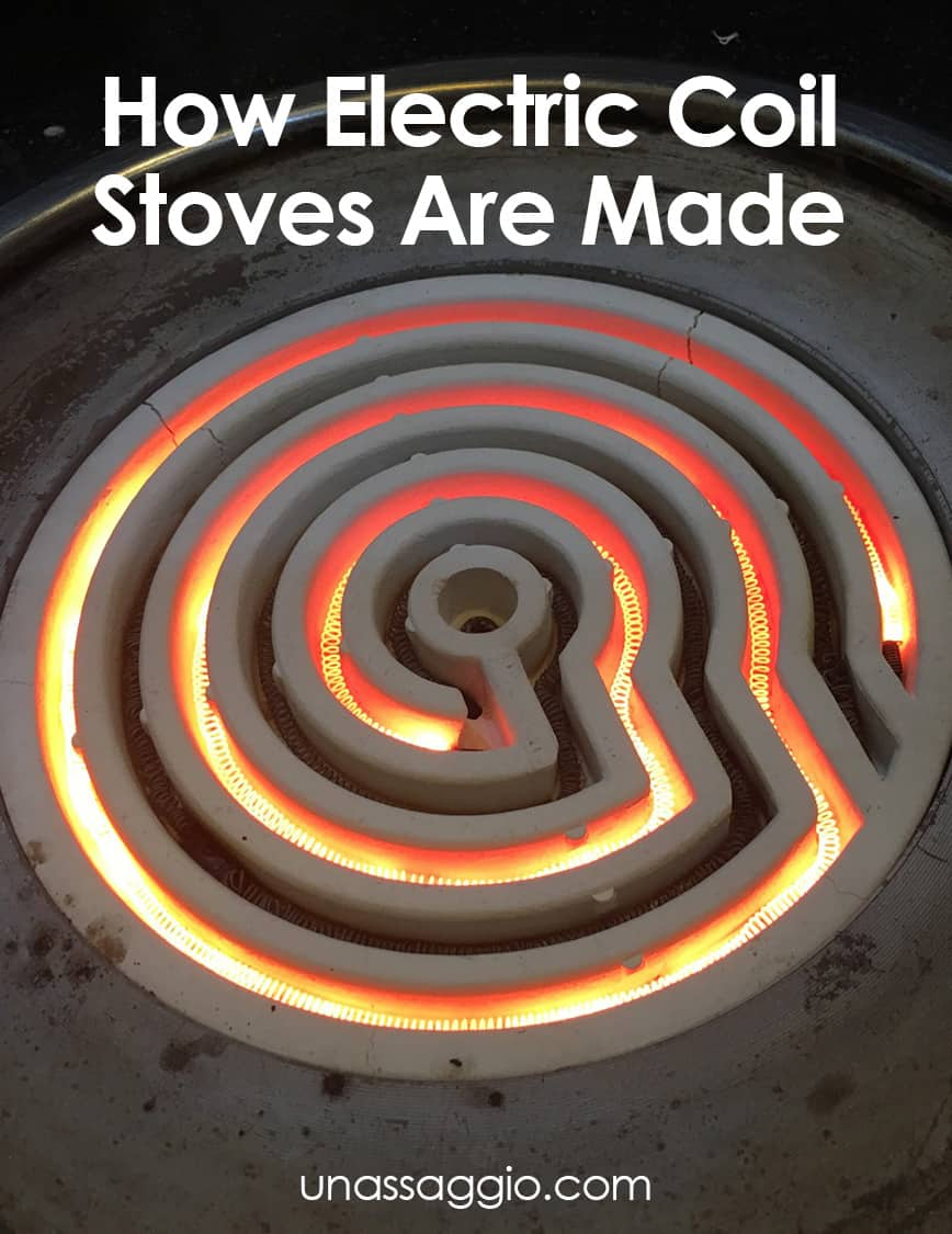 How Electric Coil Stoves Are Made