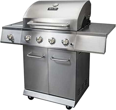 Dyna-Glo DGE Collection Lp Grill, 5 Heater, Gunmetal