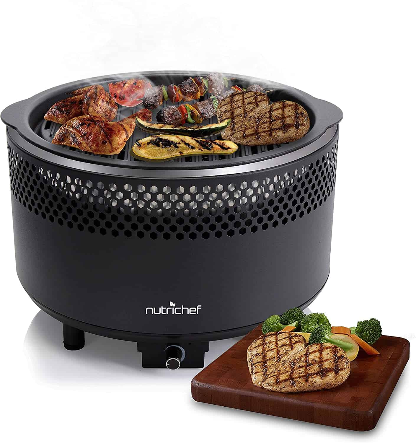 NutriChef Upgraded Charcoal BBQ Grill