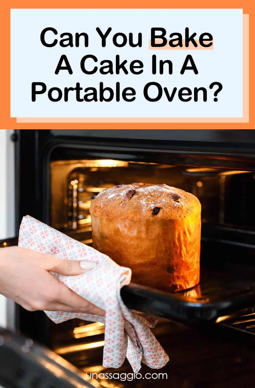 Can You Bake A Cake In A Portable Oven?