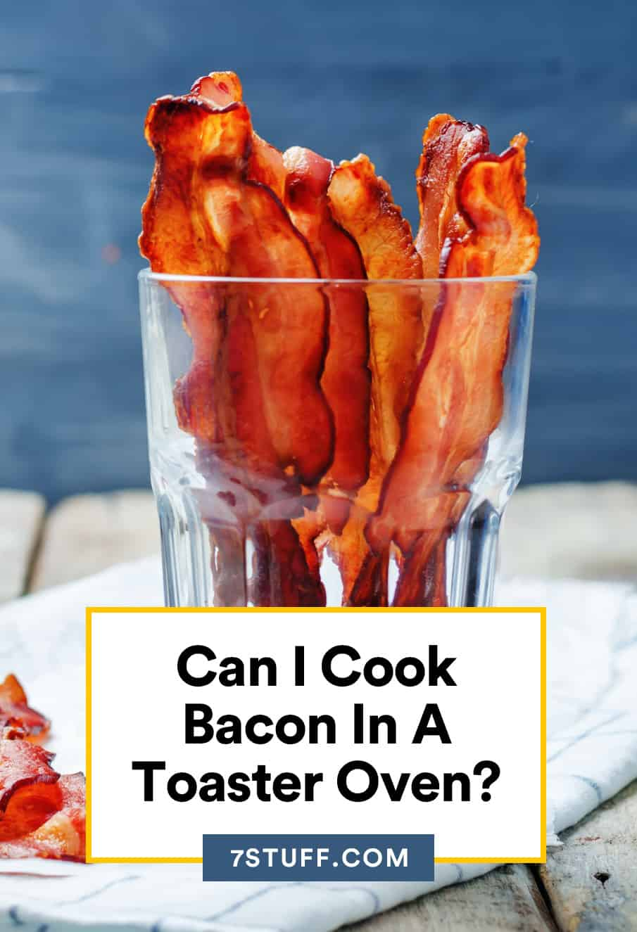 Can I Cook Bacon In A Toaster Oven?