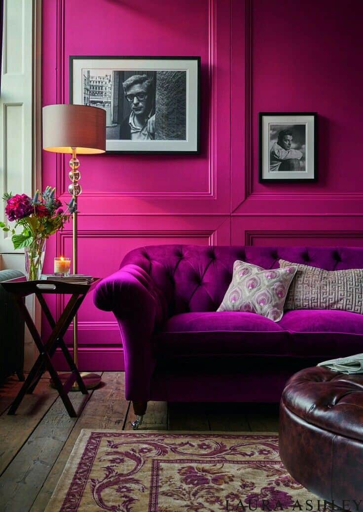 Pink And Purple Decoration