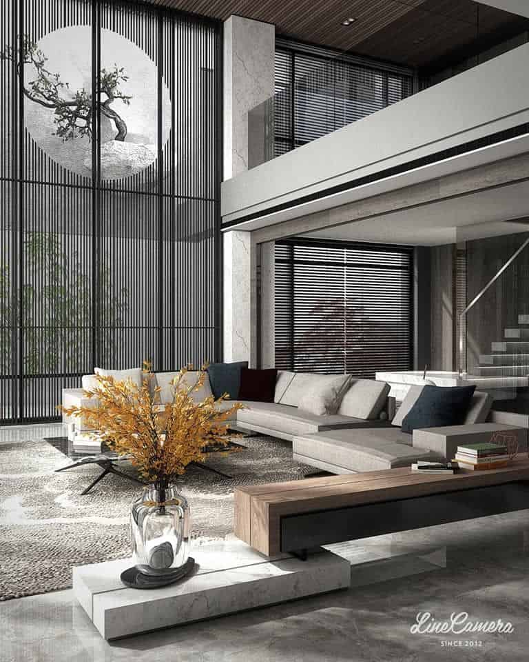 Spaciaous Living Room