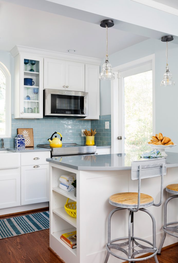 Kitchen Design With Crystal Cabinets