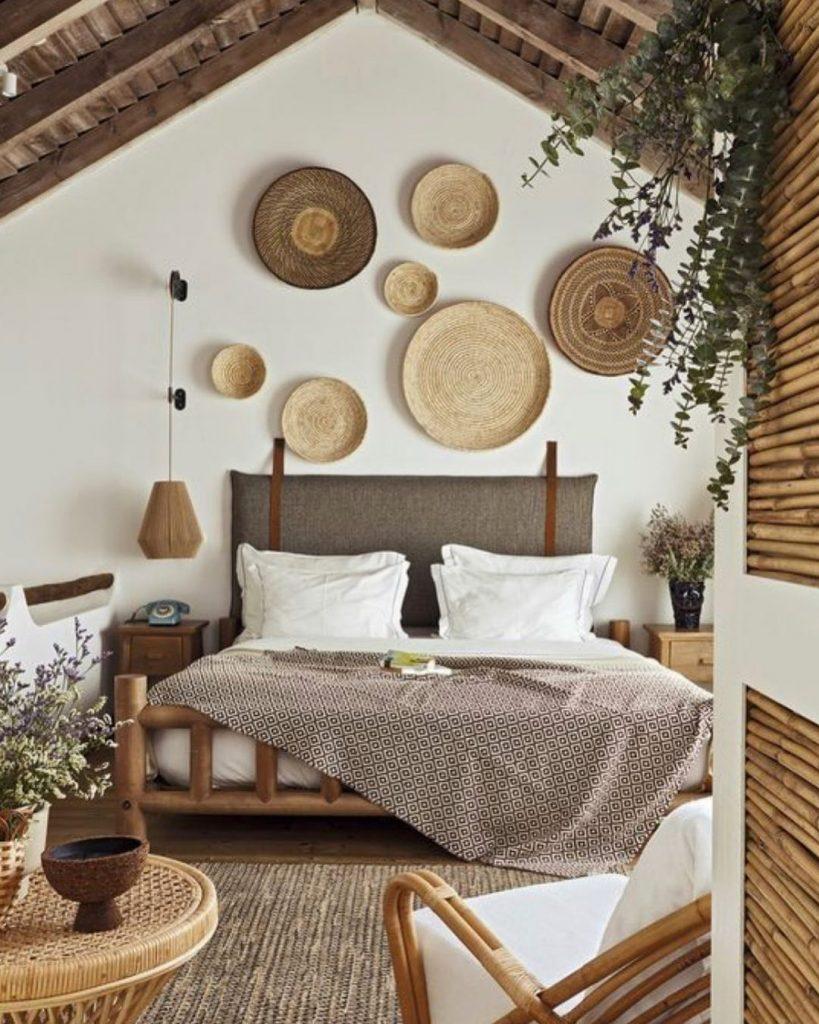 Bedroom With Art