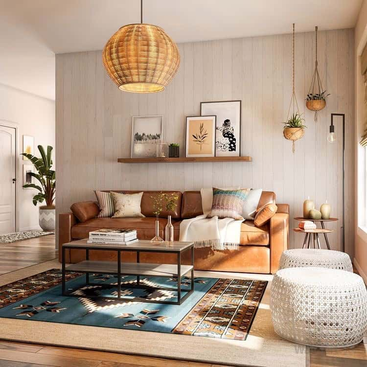 Muted Colours Living Room
