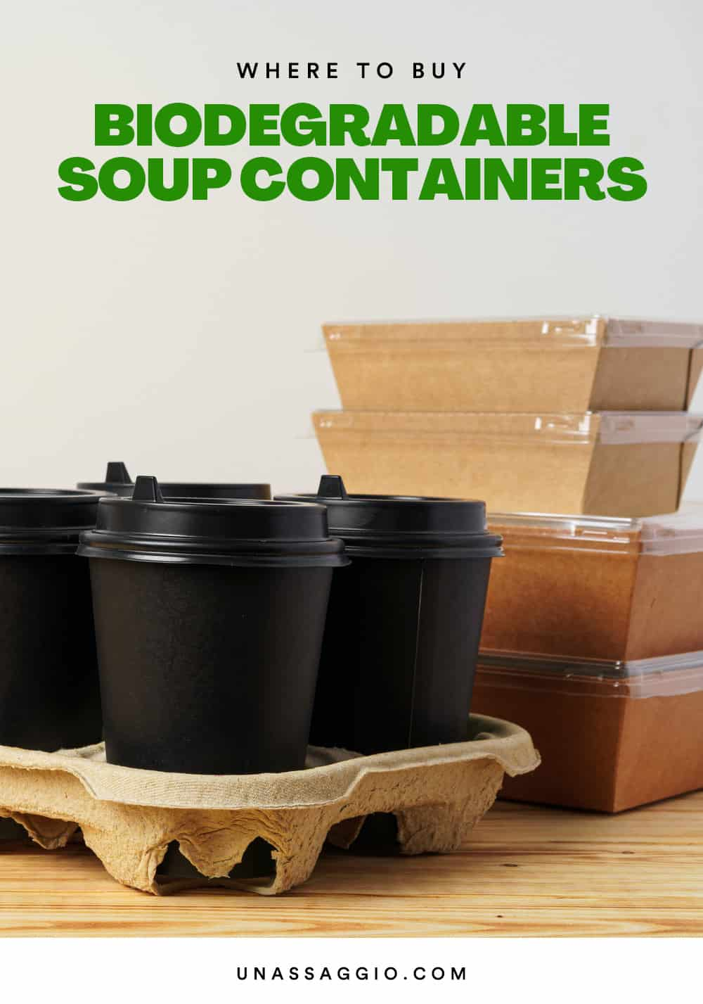 Biodegradable Soup Containers